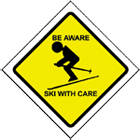 Be Aware - Ski With Care