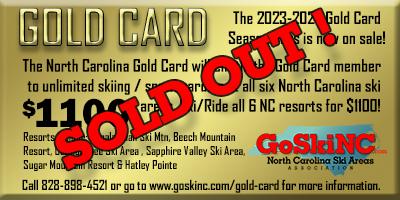 ski nc gold card